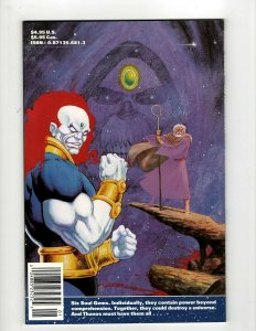 The Thanos Quest Marvel Comic Book # 1 NM 1st Print Jim Starlin Avengers OF2