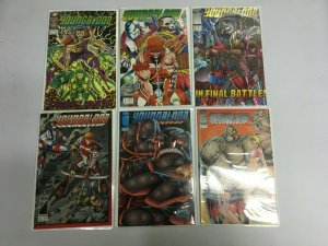 Youngblood lot 11 different issues avg 8.0 VF (Image)