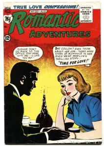 My Romantic Adventures #133 1964- Fat girl/ugly duckling story: A DIET OF ROMAN