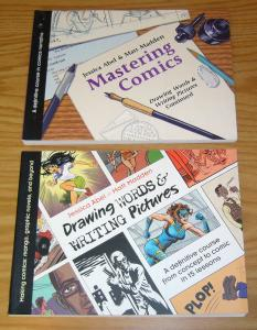 Drawing Words & Writing Pictures VF/NM how to guide + mastering comics - lessons
