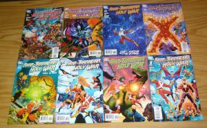 Rann/Thanagar Holy War #1-8 VF/NM complete series - jim starlin - ron lim set