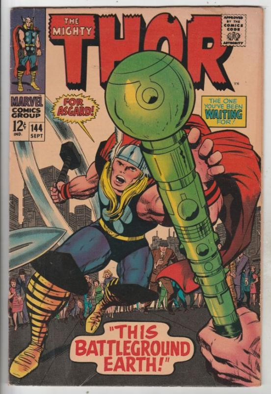 Thor, the Mighty #144 (Sep-67) FN/VF High-Grade Thor