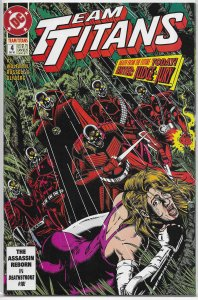 Team Titans   vol. 1   # 4 VF Wolfman, Jimenez cover
