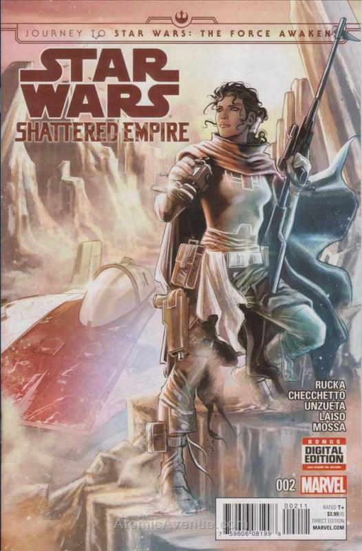 Journey to Star Wars: The Force Awakens—Shattered Empire #2 VF/NM; Marvel | save