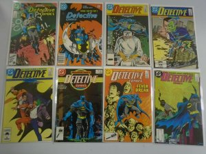 Detective Comics lot 16 different from #568-600 6.0 FN (1986-89 1st Series)