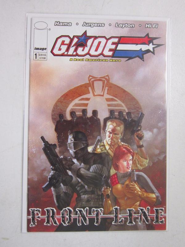 GI Joe Frontline #1 A - 8.0 - 2002