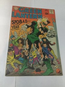 Green Lantern 66 Fn Fine 6.0 DC Comics