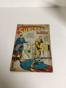 Superman 118 Vg Very Good 4.0 Silver Age