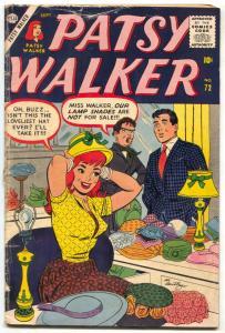 Patsy Walker #72 1957- Hedy Wolfe- Atlas comics G/VG