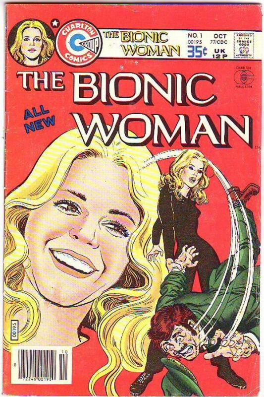Bionic Woman, The  #1 (Oct-77) FN Mid-Grade Jaime Summers