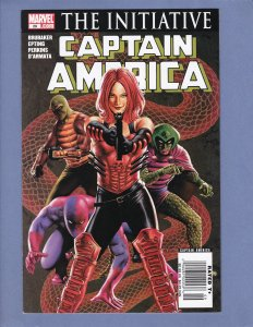 Captain America #28 NM Newsstand Edition HTF Marvel 2007