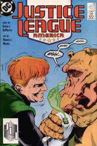Justice League (1987 series) #33, VF+ (Stock photo)
