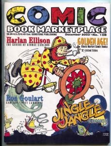 Comic Book Marketplace #108 2003- George Carlson- Jingle Jangle