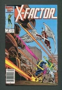X-Factor #3  /  9.4 NM  /  Newsstand / April 1986
