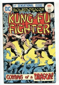 Richard Dragon Kung-Fu Fighter #1 1975 1st issue DC VF+