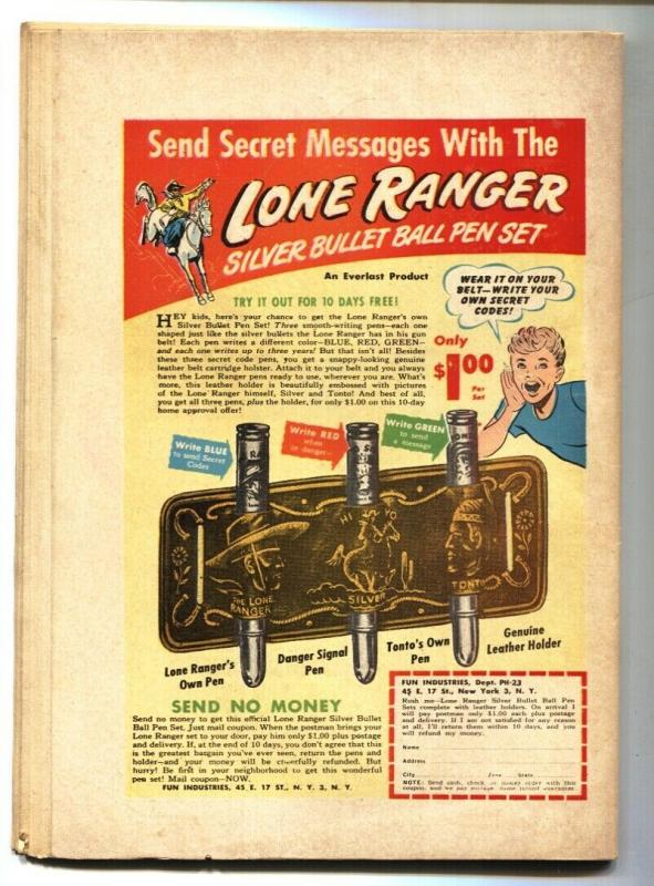 Golden West Love #1  BOB POWELL Spicy Lingerie Panels 1949 VG+