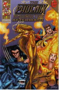 Phoenix Resurrection, The: Aftermath #1 GOLD VF/NM; Malibu   save on shipping -