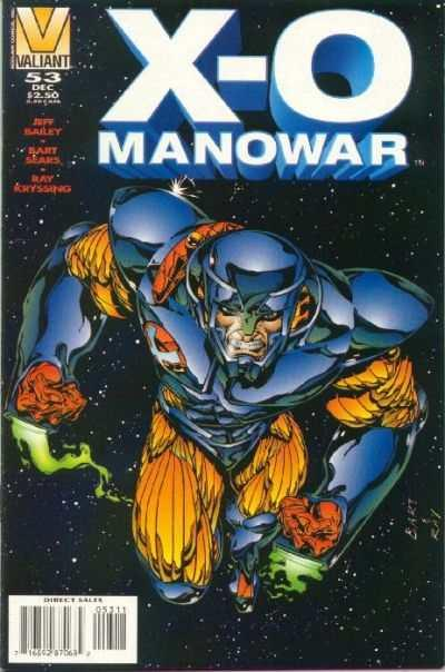 X-O Manowar (1992 series) #53, NM + (Stock photo)