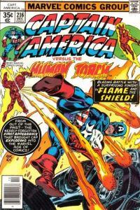 Captain America (1968 series) #216, NM- (Stock photo)
