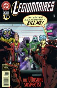 Legionnaires #57 FN; DC | save on shipping - details inside