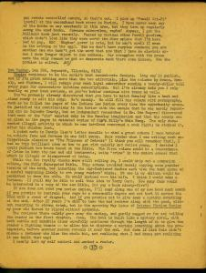 Yandro Fanzine #197 1970- Sci fi book reviews- FAIR