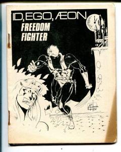 Id, Ego...Aeon #2 1972-Spectrum-superhero comics-4 X 5-VG