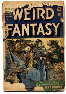 WEIRD FANTASY #19-Wally Wood-E.C. GOLDEN AGE-1953