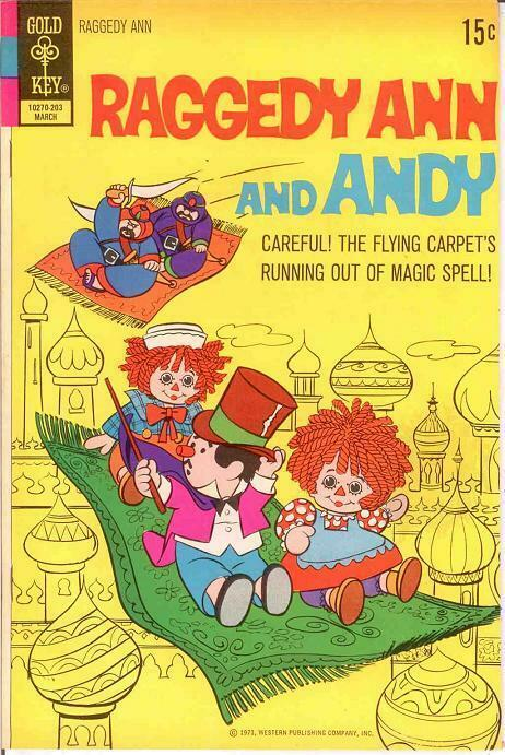 RAGGEDY ANN & ANDY (1971-73 GK) 2 VF-NM March 1972 COMICS BOOK