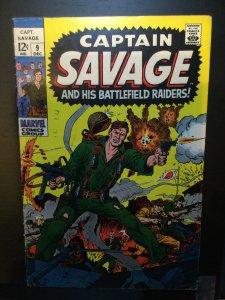 Captain Savage #9 (1968)