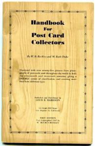 Handbook for Post Card Collectors 1949- Beckley & Duke rare