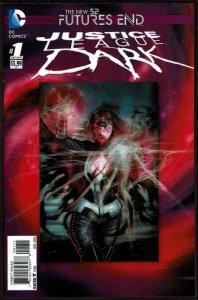 Futures End Justice League Dark 3-D Cover (2014, DC) 9.6 NM+