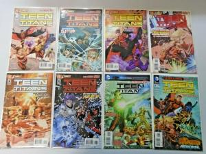 Teen Titans lot #1 to #19 4th Series 18 different books 8.0 VF (2011)