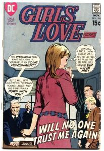 Girls' Love Stories #155 1970-DC ROMANCE COMICS-GIRL TEARS