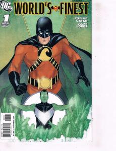Lot Of 2 DC Comics Book World's Finest #1 and #1 Batman ON1