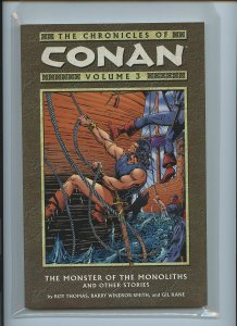 The CHRONICLES OF CONAN - Volume 3 - Monster of the Monoliths (Dark Horse)
