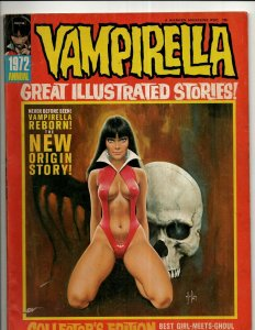4 Magazines Vampirella 1972 Annual + Spirit # 8 + Kull The Barbarian # 2 3 RS3