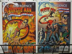 CONVERGENCE PLASTIC MAN & FREEDOM FIGHTERS  (2015) 1-2