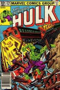 Incredible Hulk, The #274 (Newsstand) VG; Marvel | low grade comic - save on shi
