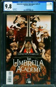 Umbrella Academy: Apocalypse Suite #1 2007 CGC 9.8 2025907001