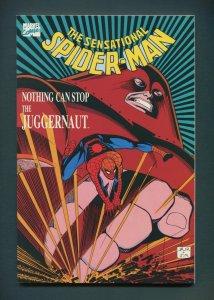 Sensational Spiderman TPB (Juggernaught) / 9.0 VFN/NM  / 1989