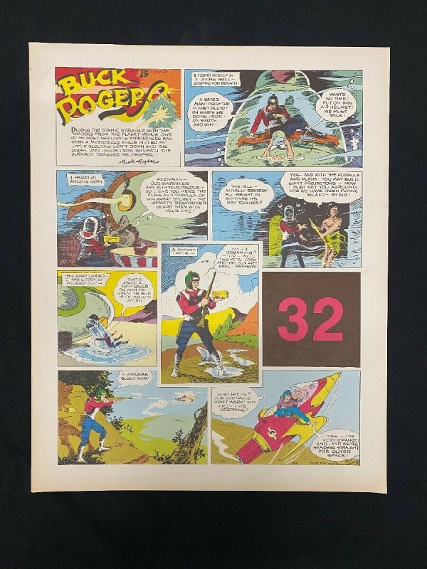Buck Rogers #32- Sunday pages #373-384- Large color reprints