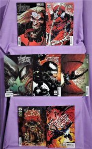 King in Black VENOM #31 - 34 Variant Cover 7 Pack Ryan Stegman (Marvel, 2021)!