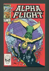 Alpha Flight #4  / 9.0 VFN/NM    November 1983