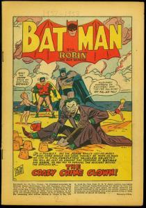 Batman Comics #74 1952- Parade of Pleasure- Joker Coverless copy