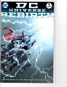 DC Universe Rebirth (2016) #1 VF+ (8.5) 1st print