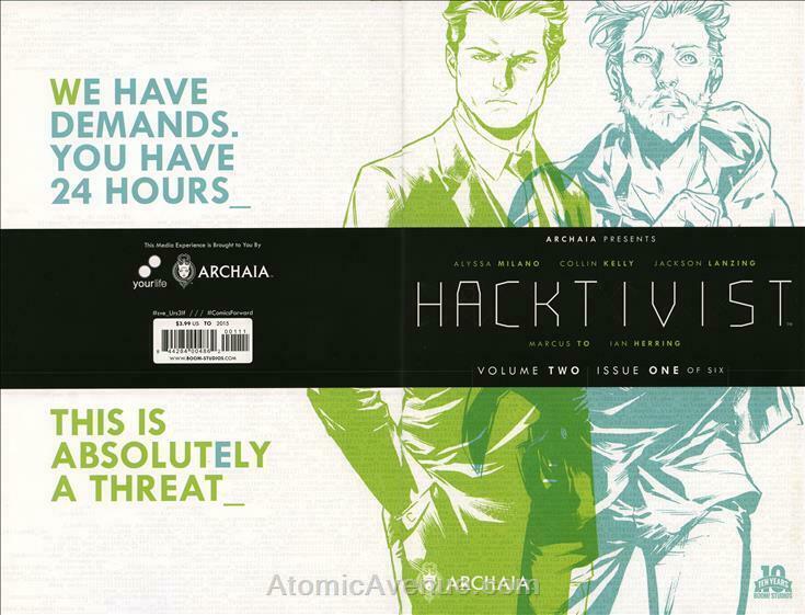 Hacktivist (Vol. 2) #1 VF/NM; Boom! | save on shipping - details inside