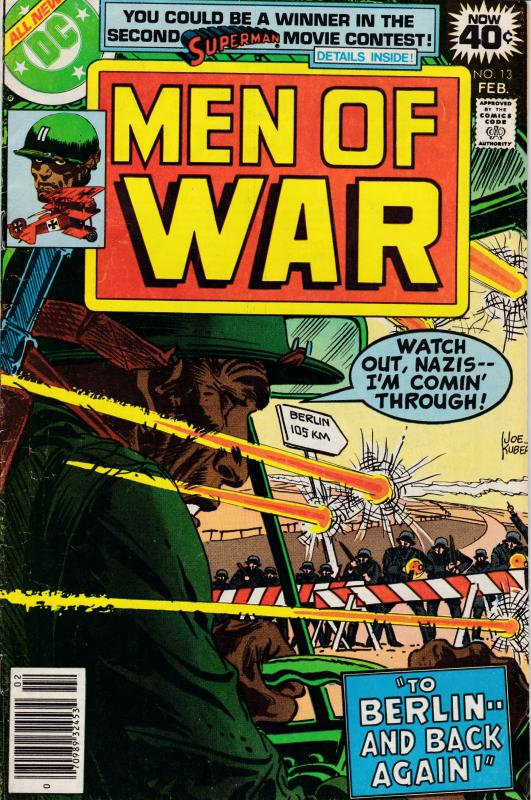 MEN OF WAR Nr.13 FEB.1979 Grave Digger + One  VF Clean