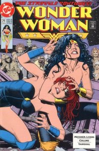 Wonder Woman #71 (ungraded) 2nd series / stock photo / ID#00E