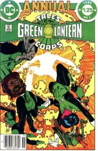 Tales of the Green Lantern Corps (1981 series) Annual #1, VF+ (Stock photo)