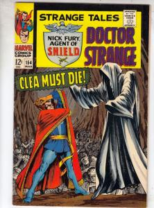 Strange Tales #154 (Mar-67) VF High-Grade Nick Fury, Dr. Strange